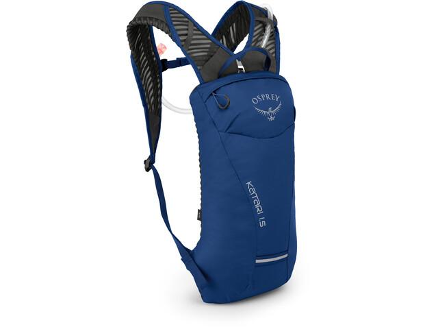 Osprey Katari 1.5 Hydration Backpack Herre cobalt blue